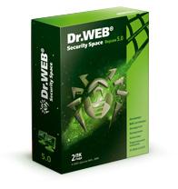 Dr. Web® Security Space, картонная упаковка, на 24 месяца, на 2 ПК