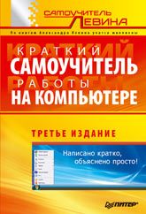 Купить книгу почтой в интернет магазине Книга Краткий самоучитель работы на компьютере. 3-е изд. Левин